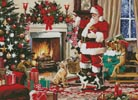 Santa Interior - Cross Stitch Chart