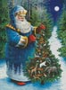 Santa's Christmas Tree - Cross Stitch Chart