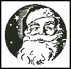 Santa's Face 1 - Cross Stitch Chart
