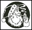 Santa's Face 2 - Cross Stitch Chart