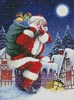Santa's Here - Cross Stitch Chart