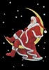 Santa Takes a Break - Cross Stitch Chart