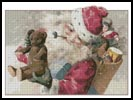 Santa with Toys - Cross Stitch Chart