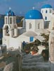 Santorini 2 - Cross Stitch Chart