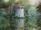 Scotney Castle Garden - Cross Stitch Chart