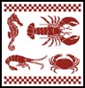 Seafood - Cross Stitch Chart
