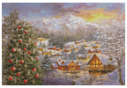 Seasons Greetings 2 - Cross Stitch Chart