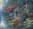 Secret Hideaway Cushion - Cross Stitch Chart