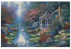 Secret Hideaway (Large) - Cross Stitch Chart