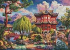 Secret Temple (Large) - Cross Stitch Chart