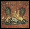 Sight (Lady and the Unicorn) - Cross Stitch Chart
