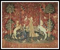 Taste (Lady and the Unicorn) - Cross Stitch Chart