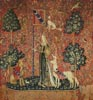 Touch (Lady and the Unicorn) Large - Cross Stitch Chart
