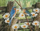 Serenade in Blue - Cross Stitch Chart