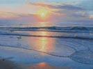 Serenity Beach (Large) - Cross Stitch Chart