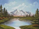 Serenity Lake - Cross Stitch Chart