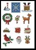 Sew Little Stitches Christmas Collection 1 - Cross Stitch Chart