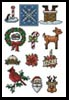 Sew Little Stitches Christmas Collection 1 (Large)- Cross Stitch