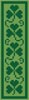 Shamrock Bookmark - Cross Stitch Chart