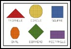 Shapes Sampler - Cross Stitch Chart