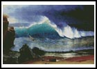 The Shore of the Turquoise Sea - Cross Stitch Chart