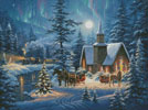 Silent Night - Cross Stitch Chart