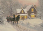 I'll be Home - Cross Stitch Chart