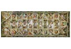 Sistine Chapel 2 - Cross Stitch Chart