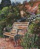 Sitting in the Garden - Cross Stitch Chart