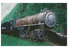 Skagway, White Pass Locomotive - Cross Stitch Chart