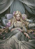 Sleeping Beauty Painting - Cross Stitch Chart