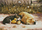 Sleepy Days - Cross Stitch Chart