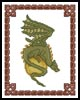 Small Fantasy Dragon - Cross Stitch Chart