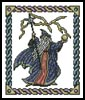 Small Fantasy Wizard - Cross Stitch Chart