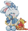 Snow Bunny - Cross Stitch Chart