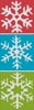 Snowflake Bookmark 2 - Cross Stitch Chart