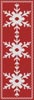 Snowflake Bookmark 3 - Cross Stitch Chart