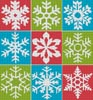Snowflakes 2 - Cross Stitch Chart