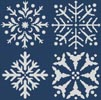 Snowflake Set - Cross Stitch Chart