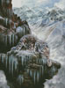 Snow Leopard High Country - Cross Stitch Chart