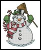 Snowman - Cross Stitch Chart