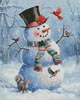 Snowman and Friends - Cross Stitch Chart