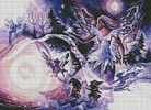 Snow Queen - Cross Stitch Chart