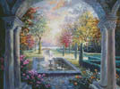 Soulful Mediterranean Tranquility - Cross Stitch Chart