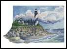 Spiral Lighthouse - Cross Stitch Chart