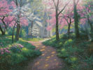 Spring Chapel - Cross Stitch Chart