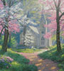 Spring Chapel (Crop) - Cross Stitch Chart