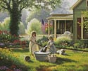 Spring Cleaning - Cross Stitch Chart