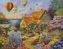 Spring in Grandmas Garden - Cross Stitch Chart