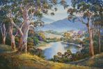 Spring Morning, Ovens Valley - Cross Stitch Chart